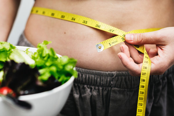 6 Different Behavioral Strategies in Combination to Lose Weight